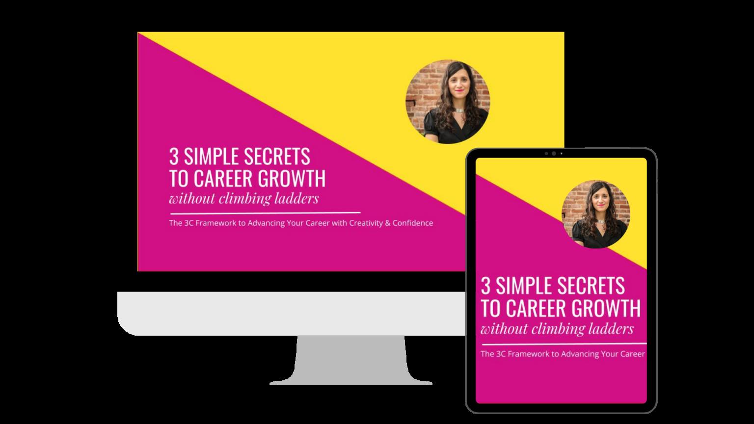 creative career growth, creative career blueprint, secrets to career growth